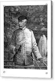 Admiral Dewey At Sea Acrylic Print