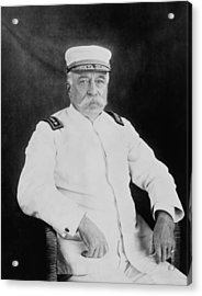Admiral George Dewey Acrylic Print by War Is Hell Store