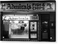 Admirals Fish And Chips Acrylic Print
