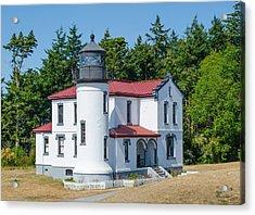 Admiralty Head Lighthouse  Acrylic Print