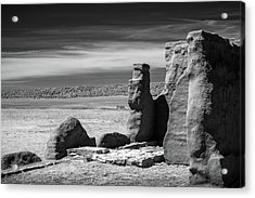 Acrylic Print featuring the photograph Adobe Walls by James Barber
