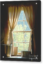 Adobe Window Light Acrylic Print