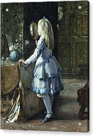 Adolescence Acrylic Print by William Jabez Muckley