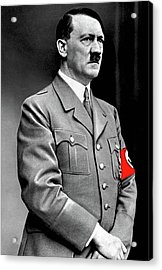 Adolf Hitler The Visionary Circa 1941 Color Added 2016 Acrylic Print
