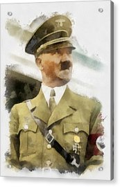 Adolf Hitler Wwii Acrylic Print by Esoterica Art Agency