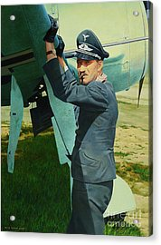 Adolf Acrylic Print