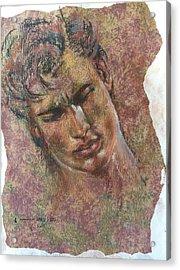 Adonis Acrylic Print by Vicki Ross