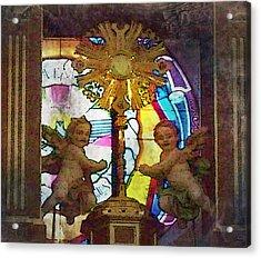 Adoration Chapel 4 Acrylic Print