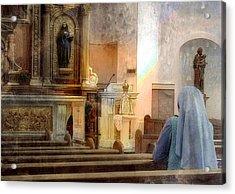 Adoration Chapel Acrylic Print