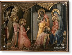 Adoration Of The Kings Acrylic Print by Granger