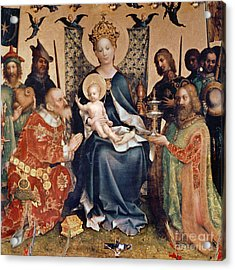 Adoration Of The Magi Altarpiece Acrylic Print