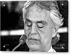 Andrea Bocelli In Concert Acrylic Print