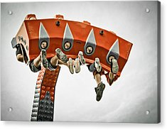 Adrenalin Acrylic Print by Maggie Terlecki