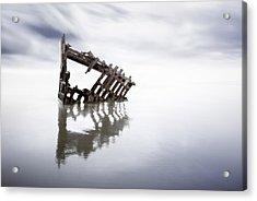 Adrift At Sea Acrylic Print by Eduard Moldoveanu