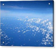 Adrift In A Sea Of Calm Acrylic Print by Addie Hocynec
