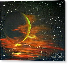 Adrift - In Space Acrylic Print