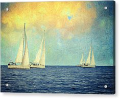 Adrift Acrylic Print by Taylan Apukovska