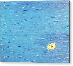Acrylic Print featuring the painting Adrift by Thomas Blood