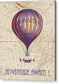 Adventure Awaits Acrylic Print