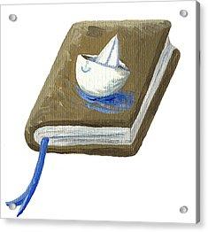 Adventure Book Acrylic Print