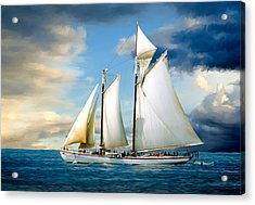 Adventure Acrylic Print by Fred LeBlanc