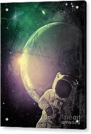 Adventure In Space Acrylic Print by Phil Perkins