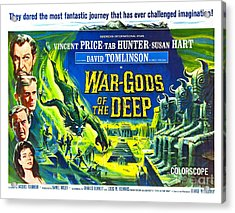 Adventure Movie Poster 1965 Acrylic Print by Padre Art