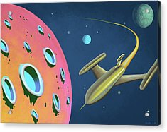 Adventures In Space Acrylic Print