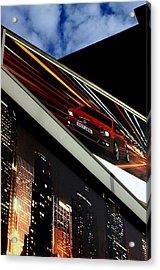 Advertising World Acrylic Print by Jez C Self