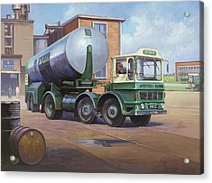 Aec Air Products Acrylic Print by Mike  Jeffries