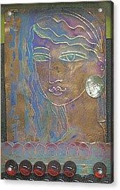 Aegean Princess Acrylic Print by Trish Marcum