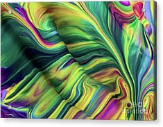 Aegean Wave Acrylic Print