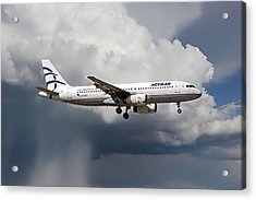 Aegian Airlines Acrylic Print