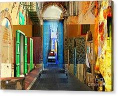 Aeolian Alleys Acrylic Print by Ayesha DeLorenzo