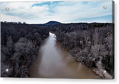Aerial River View Acrylic Print