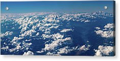 Acrylic Print featuring the photograph Aerial View by Nikos Stavrakas