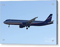 Aeroflot - Russian Airlines Airbus A321-211 - Vq-bhk Acrylic Print