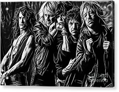 Aerosmith Collection Acrylic Print