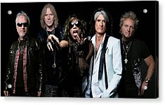 Acrylic Print featuring the photograph Aerosmith by Sean