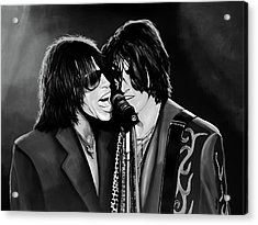 Aerosmith Toxic Twins Mixed Media Acrylic Print by Paul Meijering