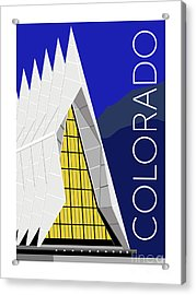 Colorado Afa Chapel Acrylic Print