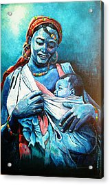 Affection Acrylic Print by Bankole Abe