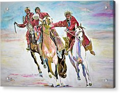 Afghan Sport. Acrylic Print