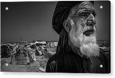 Afghan Tribal Leader Acrylic Print by David Longstreath