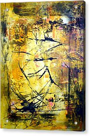 Aforethought Abstract Acrylic Print