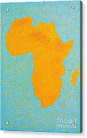 Africa No Borders Acrylic Print
