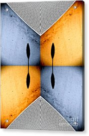 African Abstract Acrylic Print by Emilio Lovisa