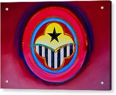 Acrylic Print featuring the painting African American by Charles Stuart