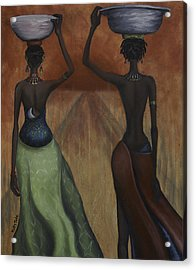 African Desires Acrylic Print by Kelly Jade King