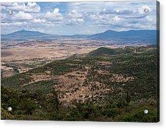 African Great Rift Valley Acrylic Print by Aidan Moran